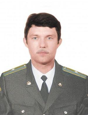 Майор Александр Достовалов