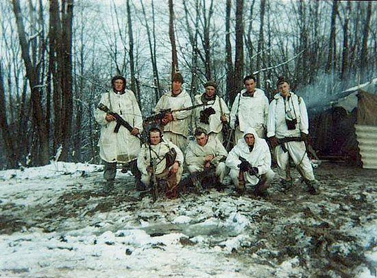 Взвод лейтенанта Кожемякина