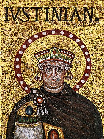 Святой император Юстиниан