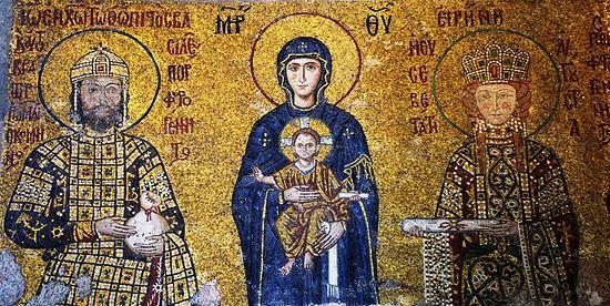 Иоанн II Комнин византийский император и Ирина, св. царица