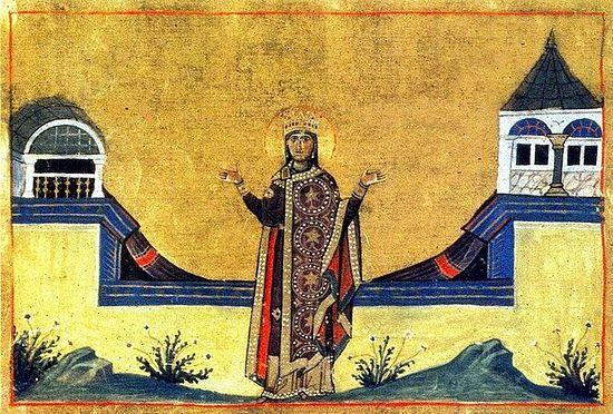 Императрица Феофания Византийская, жена императора Льва VI Мудрого