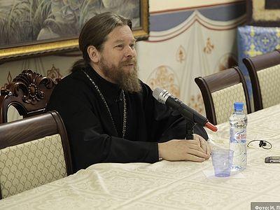 Встреча с архимандритом Тихоном в Донском монастыре