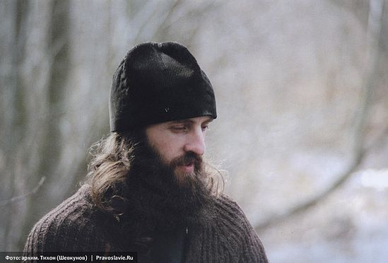 Иеромонах Роман (Матюшин). Фото: архим. Тихон (Шевкунов)