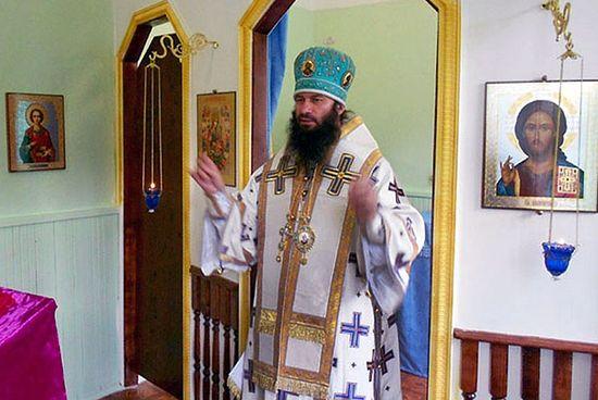 Архиерейская литургия в храме при детском доме-интернате