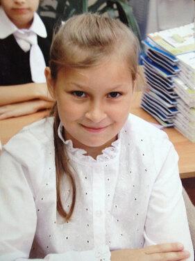 Женя Мельникова. Фотография с ориентировки