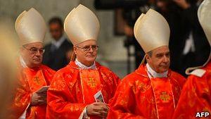 Кардинала Одило Шерера (в центре) называют одним из претендентов на папский престол