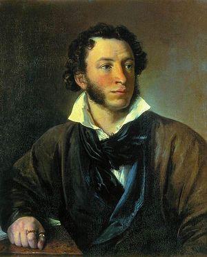 В. Тропинин. Портрет А.С. Пушкина