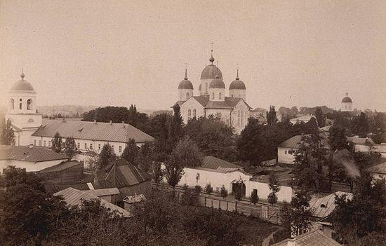 Благовещенский монастырь, основанный митр. Стефаном (Яворским). Нежин. Фото ХХ века