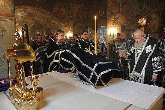 Liturgy of the Presanctified Gifts. Sretensky Monastery. Photo: Pravoslavie.ru