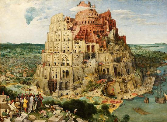 Pieter Bruegel the Elder. The Tower of Babylon. 1563.