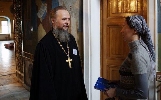 Протоиерей Вадим Леонов. Фото: МДА
