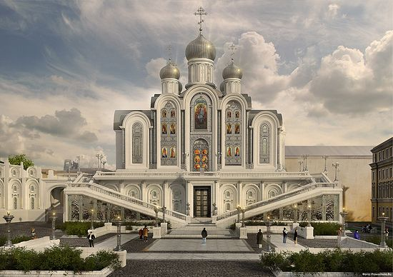 Church Design Competition in Russia