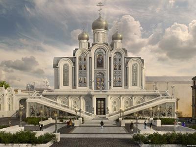 О новом храме Сретенского монастыря