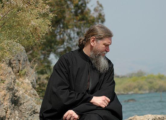Иеромонах Арсений на Святой Земле