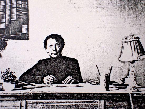 Основательница детского приюта А.А. Кузьмина-Караваева. 1922 г. Архив русской эмиграции (Брюссель)