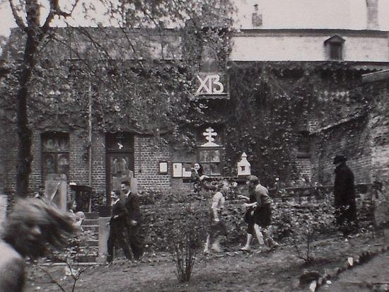 Здание детского приюта А.А. Кузьминой-Караваевой в Брюсселе