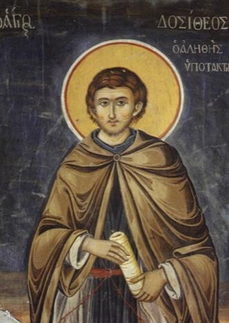 St. Dositheus, disciple of Abba Dorotheos.