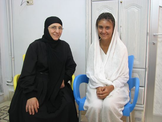 Монахиня Мария и Надежда. Седнайский монастырь