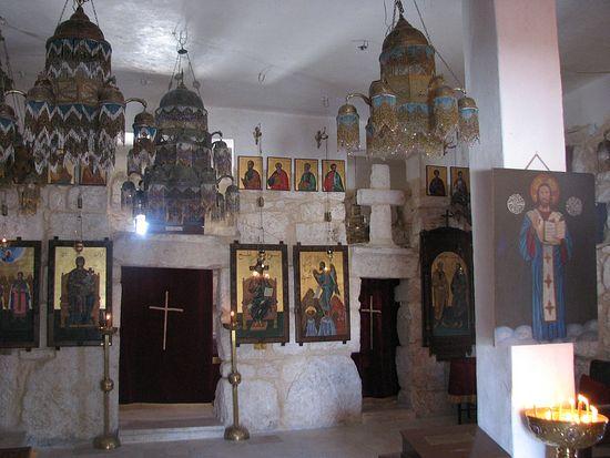 В одном из монастырей