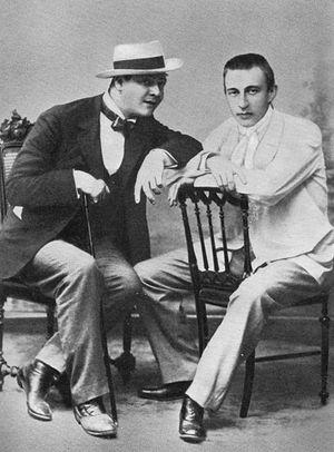 Ф.Шаляпин и С.Рахманинов
