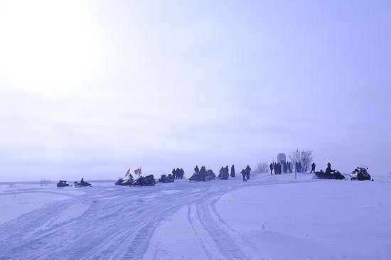 Крестный поход прибыл в Пустозерск