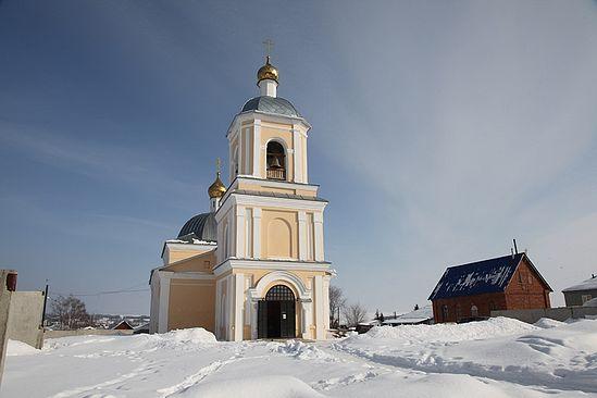 Никольский храм в Карабулаке. Фото: Ю.Ракина