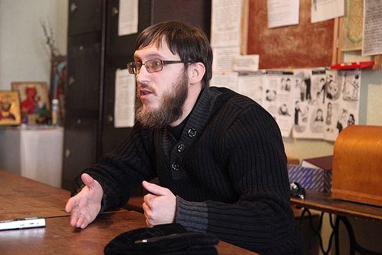 Отец Николай Протасов. Фото: Ю.Ракина