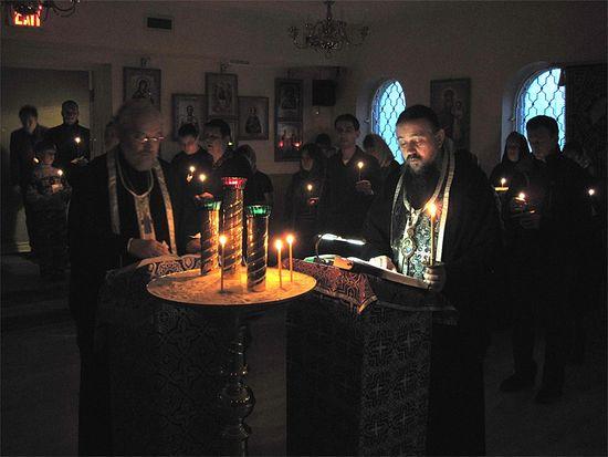 Великопостное богослужение на Подворье Московского Патриархата в Торонто