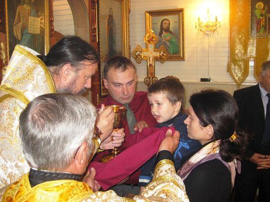 Божественная литургия в храме святого апостола Иакова