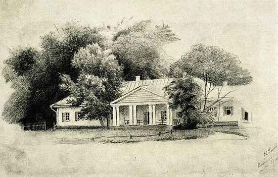 Господский дом в Васильевке