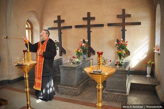 Место погребения Оптинских новомучеников. Фото: А. Поспелов / Православие.Ru