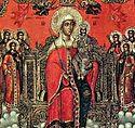 Вечернее богослужение в Сретенском монастыре в пятницу 5-й седмицы Великого поста