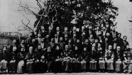 Святитель Николай среди членов Собора Японской Православной Церкви