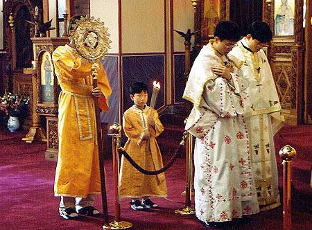 Современные православные корейцы