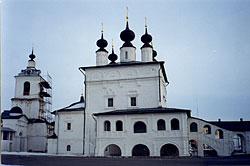 Свято-Троицкий Белопесоцкий Монастырь. Троицкий собор.