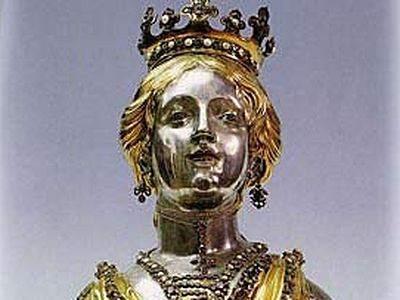 Мощи великомученицы Анастасии Узорешительницы в Баварии