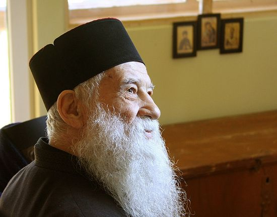 Священник Георгий Калчу.
