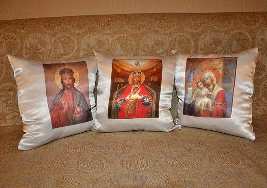 Подушки с иконами