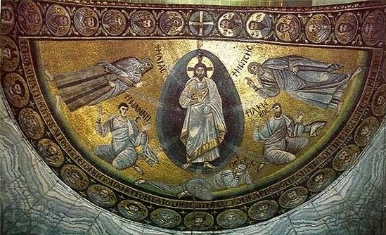 Transfiguration Mosaic at Monastery of St. Catherine. VI century