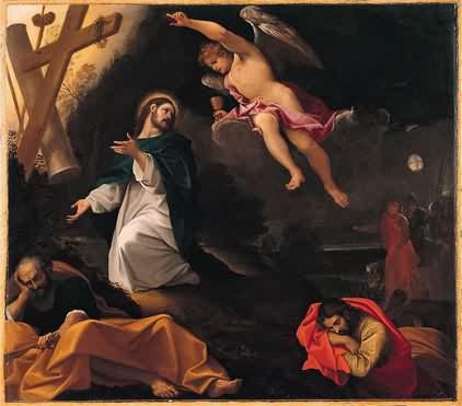 Гефсиманское моление. Людовико Караччи. 1590 г.