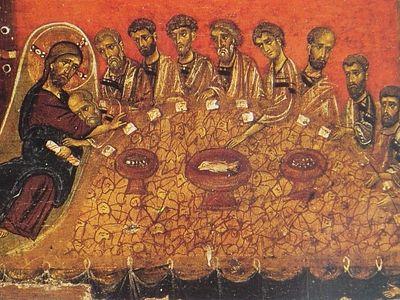 Учение о Евхаристии в гимнографических памятниках Церкви