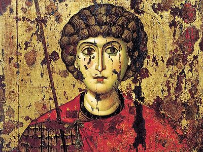Страдание и чудеса святого великомученика Георгия Победоносца
