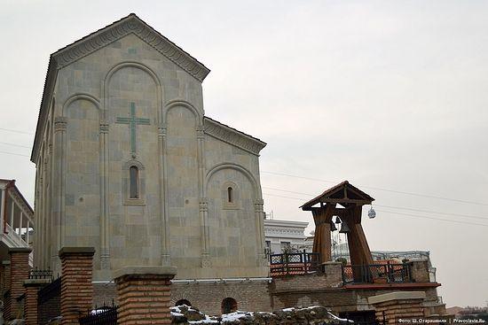 Новопостроенная церковь 40 Севастийских мучеников