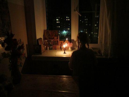 Детская молитва. Фото: Геннадий Тихонов