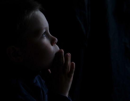 Первая молитва. Фото: Екатерина Валейская