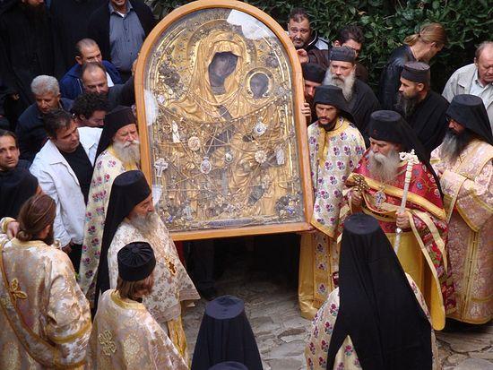 Икона Божией Матери Скоропослушница. Монастырь Дохиар