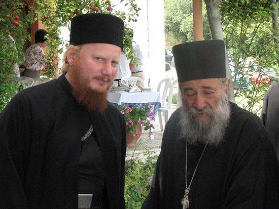 Епископ Иона и игумен Григорий