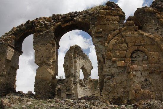 Храм в Бана. Тао-Кларджети (ныне Турция)