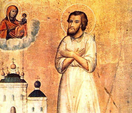 Блажени Симон Јурјевецки, Христа ради јуродиви