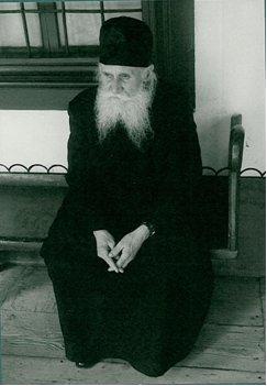 Отец Климент в 1980 г. Фото монастыря